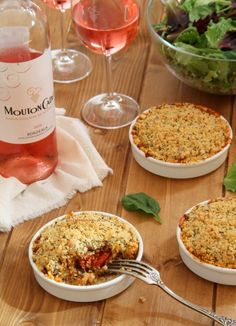 Crumble with vegetables from the sun - Les Gourmandises de Lou - Healthy Recipes Vegan Dessert Recipes, Veggie Recipes, Vegetarian Recipes, Healthy Recipes, Salad Recipes, Healthy Foods To Eat, Healthy Cooking, Healthy Eating, Cooking Recipes