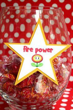 mario party ideas   super mario party ideas candy bar fire power   Flickr - Photo Sharing!