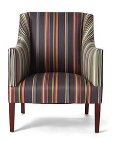 Around the World in 80 Chairs: Striped Armchair by Paul Smith, London