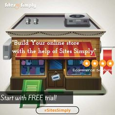 Build your very own #onlinestore at Sites Simply and take your business online today. Upgrade to your easy #monthlyplans as per your budget here.
