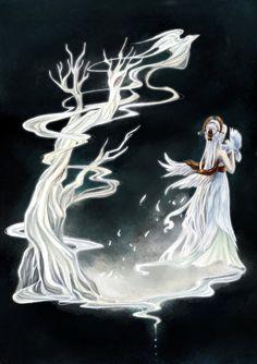 - Birds Masquerade - The White Tree Spirit - by ooneithoo