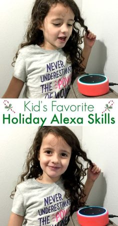 Best Holiday Alexa Skills For Kids - Beauty through imperfection Christmas On A Budget, Christmas Crafts For Kids, Holiday Fun, Christmas Holidays, Kid Crafts, Christmas Ideas, Merry Christmas, Xmas, Sassy