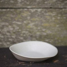 Love a plate with touch of bowl to it