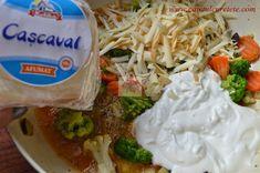 Tarta cu legume - CAIETUL CU RETETE Chicken, Meat, Food, Essen, Meals, Yemek, Eten, Cubs
