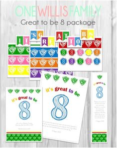This CTR great to be 8 pack contains everything youll need for your primarys baptism preview. **This is for an INSTANT DOWNLOAD - The files will