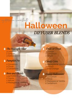 Do you have any fun Halloween traditions? Try one of these spooky diffuser blends to decorate your home aromatically for Halloween!
