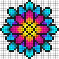 Bead Loom Patterns 88812 Something Wonderful Perler Bead Pattern / Bead Sprite Perler Bead Designs, Perler Bead Templates, Diy Perler Beads, Perler Bead Art, Pokemon Perler Beads, Kandi Patterns, Pearler Bead Patterns, Bead Loom Patterns, Perler Patterns