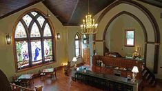 As the percentage of Americans who belong to a church, mosque or synagogue declines, congregations are selling their buildings. Some of those former houses of worship are finding new life. Nuns Habits, Adaptive Reuse, Church Building, Wood Interiors, Urban Planning, Beautiful Interiors, New Life, Bed And Breakfast, Worship