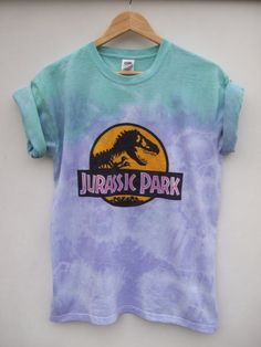 estampa jurassic park tumblr colorida
