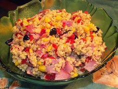 Kulinarna pasja: Pyszna sałatka z kaszą jaglaną