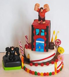 Love this Wreck It Ralph Cake!