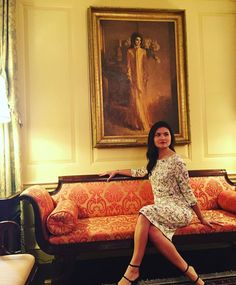 Phillipa Soo in The White House