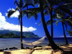 Sometimes you just want to chill on a beach away from it all.