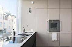 Tidy Kitchen, Kitchen Dining, Kitchen Cabinets, Cool Kitchens, Appliances, The Originals, Helsinki, Kitchen Inspiration, Home Decor