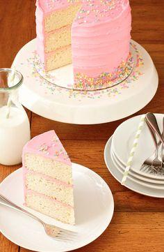 9 Gorgeous Cakes To Celebrate HuffPost's 9th Birthday Pink Vanilla Bean Birthday Cake