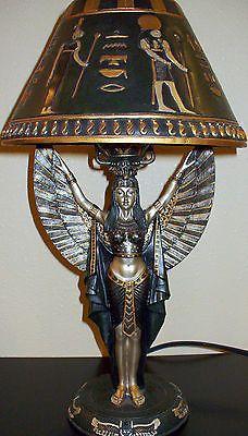 73.5 Inch Caryatid Maiden Torchiere Floor Lamp, Antique Bronze Finish ,  Warm Amber Glass Shade, Full Range Foot Dimmer, One 150 Watt Bulb: $599.99 U2026