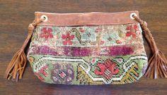 Stanzel Designs Antique Antolian Textile Clutch