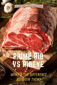 What is the difference between prime rib and ribeye? Is there one? Do they need treating and cooking differently? We cover all that and more in our comparison of these two favorite cuts #PrimeRibVsRibeye #PrimeRib #Ribeye #BBQ #Barbecue #Grilling