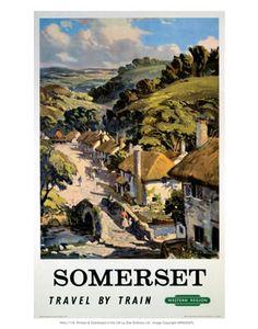 Somerset  Travel by Train western region