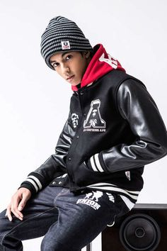 AAPE Fall 2012 Collection by A Bathing Ape Has Musical Influences #mensfashion