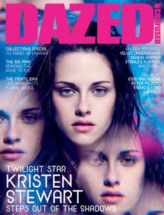 """Kristen Stewart photographed by David Benjamin Sherry for the cover of """"Dazed & Confused"""" magazine aug 2009......"""