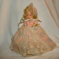 "NANCY ANN STORYBOOK Doll #110 Miss Sweet Miss ~ 5-1/2"" Bisque Doll by PastPossessionsOnly on Etsy"