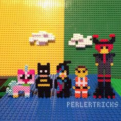 The Lego Movie - Original perler bead sprite designs by PerlerTricks (by HarmonArt2)
