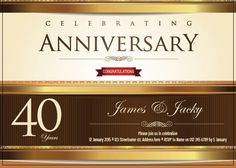 AI_006 Anniversary Congratulations, Anniversary Invitations, Rsvp, Invite, Monkey, Names, Playsuit, Birthday Invitations, Monkeys