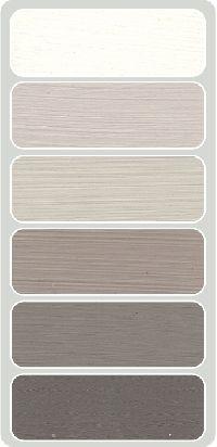 Kleurenkaart met de mooie verf kleuren van Mia Colore More