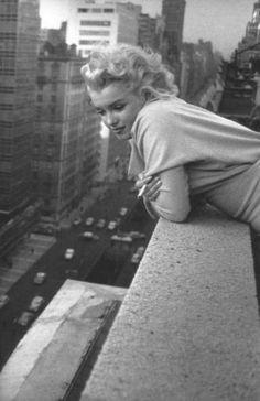 Ed Feingersh, 1955. #MarilynMonroe #NewYork