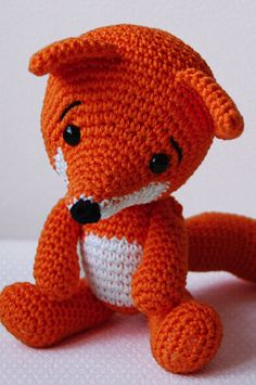 fox amigurumi patter