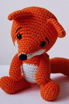 fox amigurumi patter