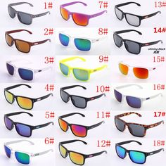 18 colors fashion man woman sunglasses