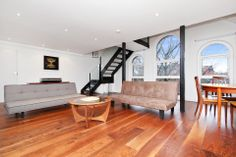 This unique loft space is situated on the top floor of this former synagogue and boasts in excess of 1000 SqFt over two floors with part double height ceilings, large semi-open plan reception and a huge mezzanine bedroom under the eaves of the building.