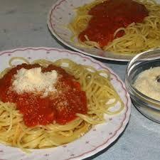 Tomaten Mozzarella Sauce zu Spaghetti von christiane1962 auf www.rezeptwelt.de, der Thermomix ® Community