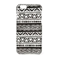 Black and Clear Aztec Print Cover for iPhone 6