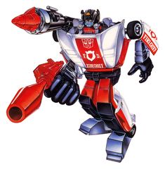 Botch's Transformers Box Art Archive - 1985Autobots - Red Alert