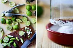 The Perfect Margarita // HonestlyYUM