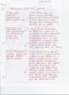 Dialectical journal ex for middle school english pinterest digication e portfolio staton us history best dialectical journals i altavistaventures Gallery