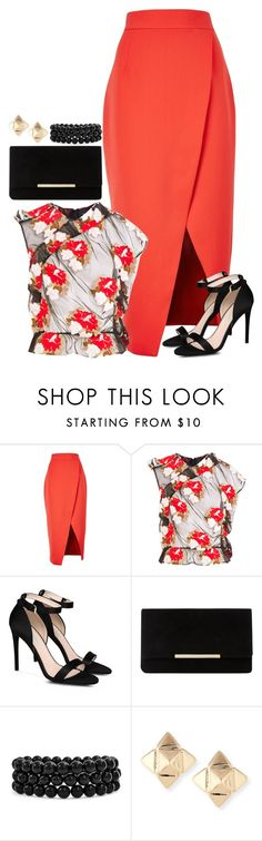 """Untitled #3553"" by fashion-nova ❤ liked on Polyvore featuring C/MEO COLLECTIVE, Simone Rocha, STELLA McCARTNEY, Dune, Bling Jewelry and Valentino"