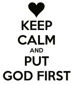 Image result for god first
