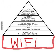 Maslow's hierarchy of needs 2.0 bahahahah
