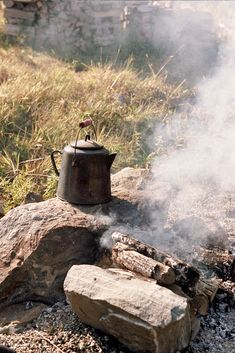 how come tea and food tastes so much better when you're out in the woods?! I love cooking my own food whilst camping.