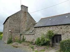 """House for sale in Côtes-d'Armor, France : Detached stone and slate property(130 sqm) and a stone and slate """"longere"""" propert..."""