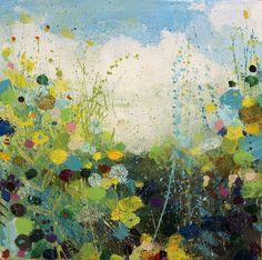 """Saatchi Art Artist Sandy Dooley; Painting, """"Blue and Green Summer"""" #art"""