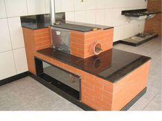 Resultado de imagen para ideas cocinas de campo con estufa de leña