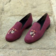 Custom Made Wellington Slippers in Wine Suede Custom Made Shoes, Custom Design Shoes, Hot Shoes, Men's Shoes, Dress Shoes, Leather Slippers, Mens Slippers, Fashion Shoes