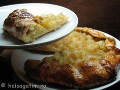 Tarta rustica ( galette) cu mere - Hai să gătim cu Amalia Favorite Recipes, Meat, Chicken, Food, Pie, Essen, Meals, Yemek, Eten
