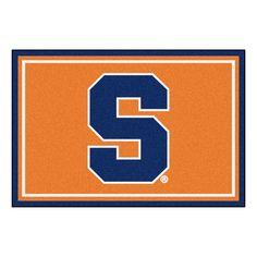 Collegiate Syracuse Area Rug