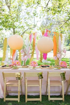 Darling Pink Peonies Picnic Birthday Party